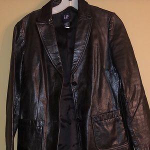 GAP Leather Blazer